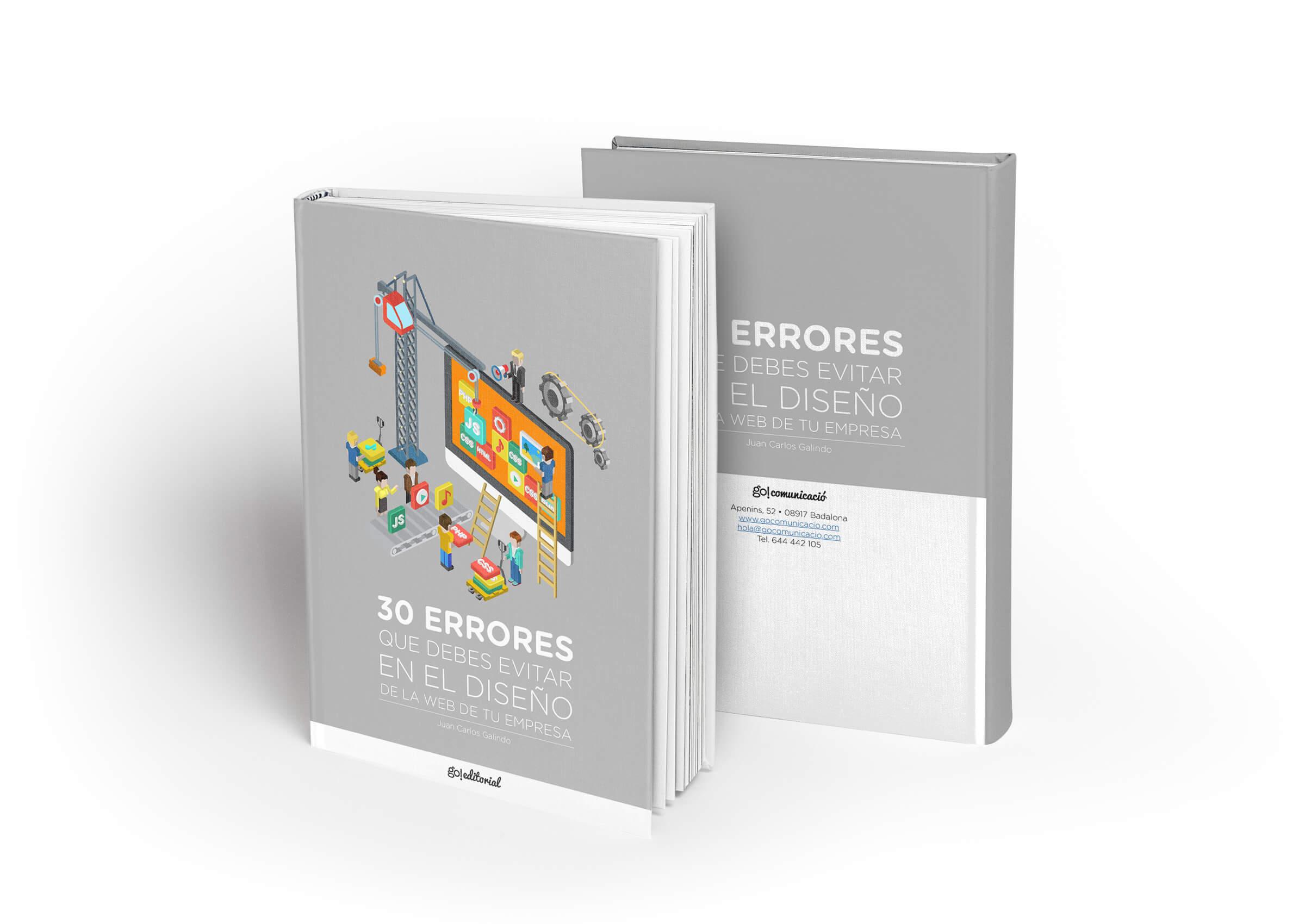 ebook 30 errores diseño web en wordpress barcelona badalona go comunicació