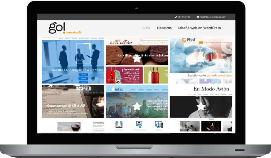 por que tu empresa necesita una página web go comunicacio diseño web en wordpress barcelona badalona go comunicació